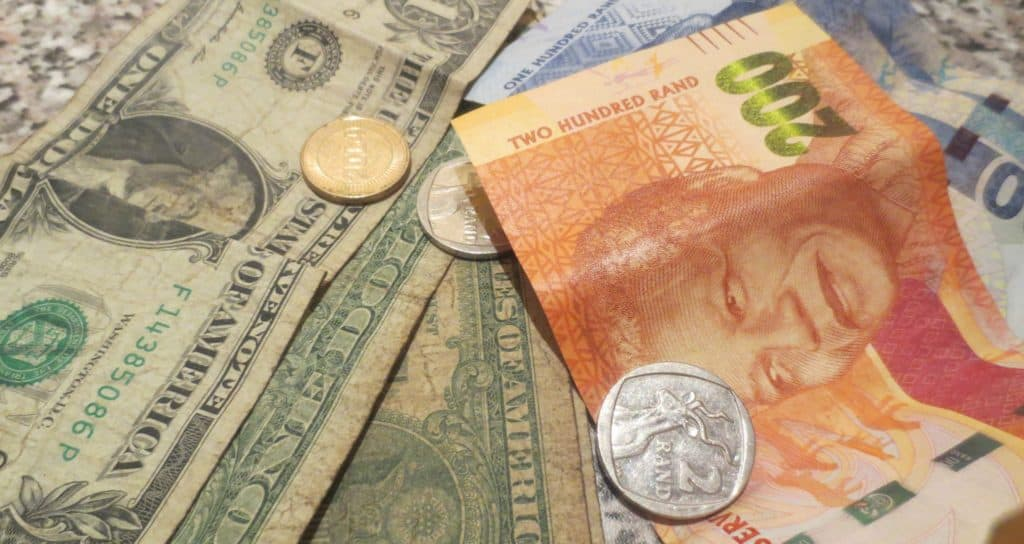 Rand Usd Zar Live Exchange Rate